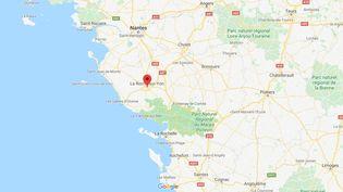 La Roche-sur-Yon, en Vendée. (GOOGLE MAPS)