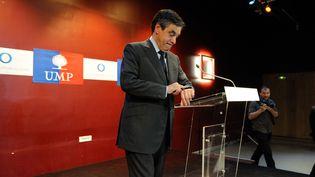 François Fillon, le 2 juillet 2013, durant un meeting à Saint-Cloud (Hauts-de-Seine). (WITT/SIPA)