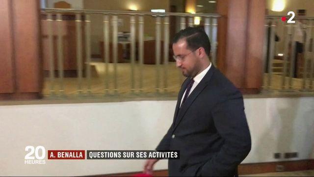 Alexandre Benalla : des questions sur ses activités