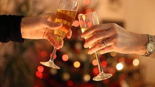 Réveillon du Nouvel an. (FRANCOIS DESTOC / MAXPPP)
