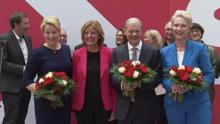 Élections législatives en Allemagne : des négociations pour former le futur gouvernement (FRANCE 3)