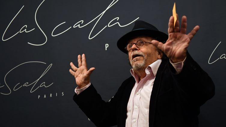 Jean-Michel Ribes, directeur du théâtre du Rond-Point, à Paris le 11 septembre 2018. (ANNE-CHRISTINE POUJOULAT / AFP)