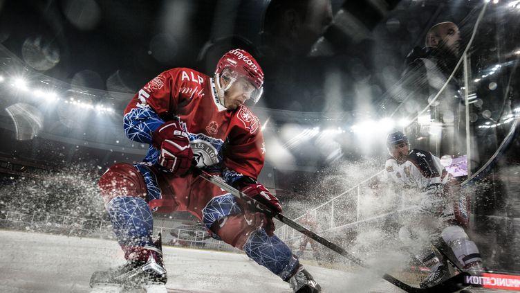 Le défenseur lyonnais Dominik Kramar (JEFF PACHOUD / AFP)