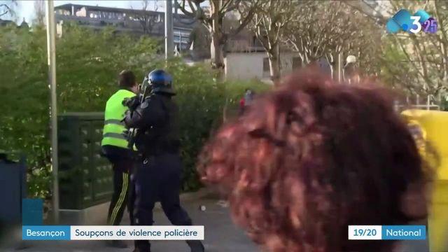 Besançon : soupçons de violences policières