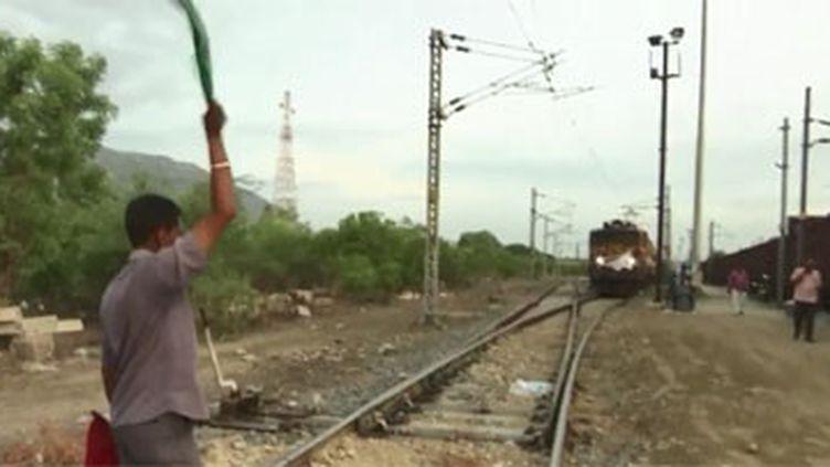Dans le sud de l'Inde, la mousson a dix jours de retard. La ville de Chennai a les trois quarts de ses réservoirs de vides. (FRANCEINFO)