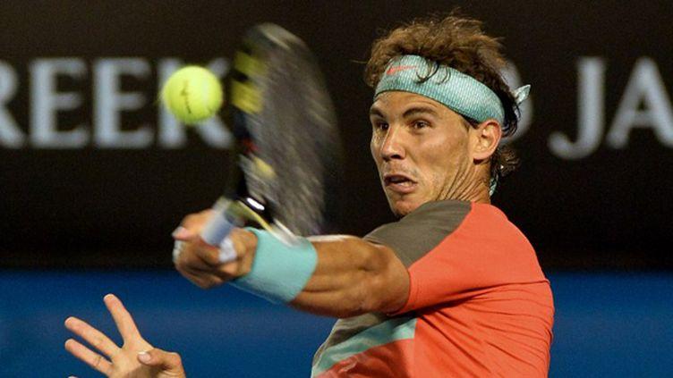 Rafael Nadal (PAUL CROCK / AFP)