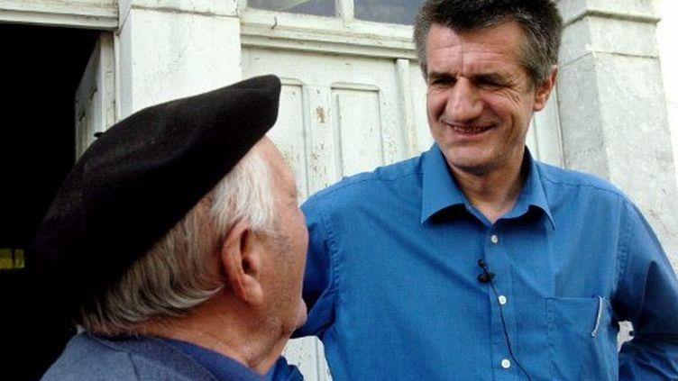 Jean Lassalle brigue un troisième mandat dans sa circonscription basco-béarnaise. (Alian Guilhot / AFP)