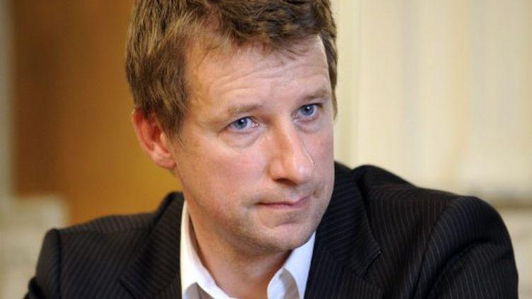 Yannick Jadot, en avril 2009 à Paris (AFP PHOTO BERTRAND GUAY)