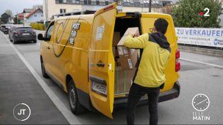 Un postier en Autriche. (France 2)