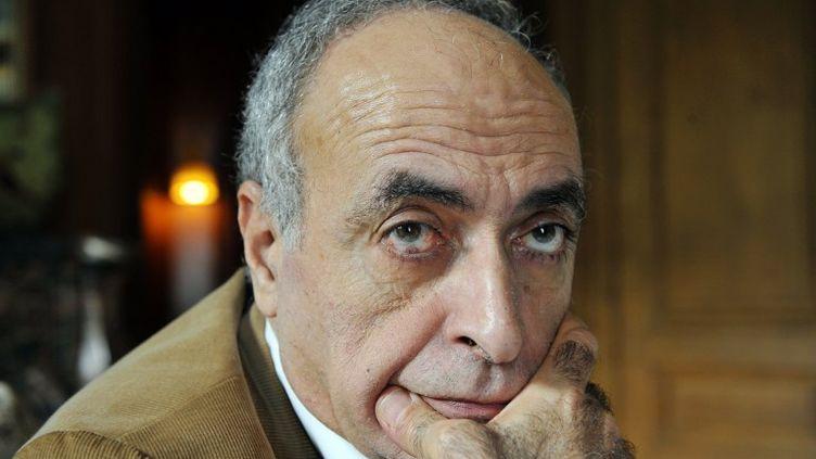 L'homme d'affaires franco-libanaisZiad Takieddine chez lui, à Paris, le 18 octobre 2012. (MEHDI FEDOUACH / AFP)