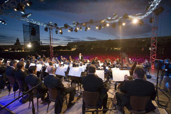 Festival Un violon sur le sable  (Ph.Souchard/Production 114)