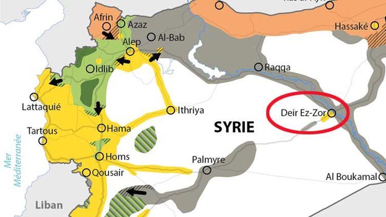 (Deir Deir Ezzor, dans l'est de la Syrie © IDE)
