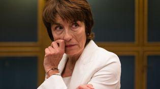 Marie-Pierre de la Gontrie fait partie de la commission d'enquête sénatoriale qui a auditionné Alexandre Benalla mercredi (AURELIEN MORISSARD / MAXPPP)
