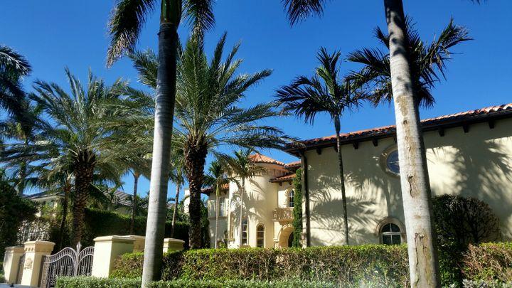 La maison deToni Holt Kramer à Palm Beach en Floride. (BENJAMIN ILLY / RADIO FRANCE)