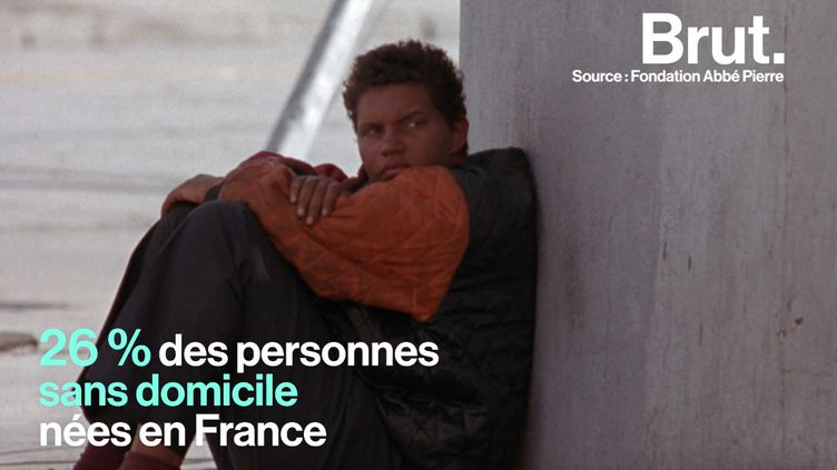 Aujourd'hui, 26 % des personnes sans domicile nées en France sont d'anciens enfants placés en foyer d'accueil. (BRUT)