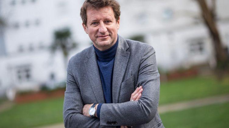 L'eurodéputé EELV, Yannick Jadot, à Lorient, le 5 février 2021. (BAPTISTE ROMAN / HANS LUCAS / AFP)