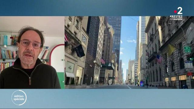 """Confinement : """"La ville a changé complètement"""", explique Marc Lévy depuis New York"""