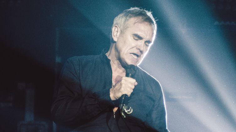 Morrissey sur scène à Naples en octobre 2015.  (Luca Carlino / NurPhoto / AFP)