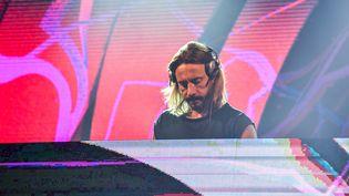 Le DJ français Bob Sinclar au Gru Village Music Festival à Turin (Italie), en 2019. (MAURO UJETTO / NURPHOTO)