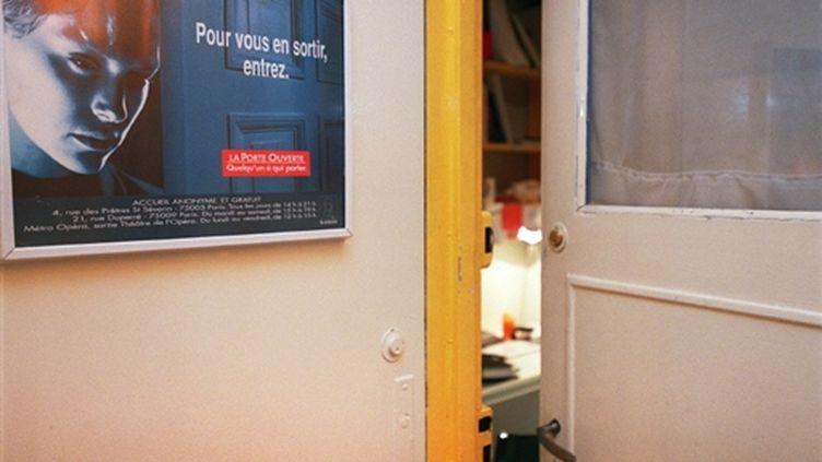 """Antenne de l'association """"La porte ouverte"""" qui intervient dans la prévention du suicide (AFP - BERTRAND GUAY)"""