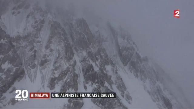 Himalaya : l'alpiniste Elisabeth Revol sauvée in extremis