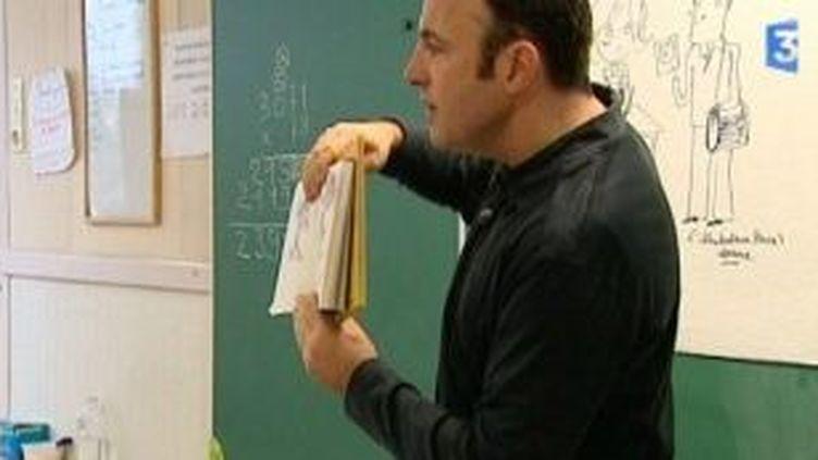 Le dessinateur Laurent Audouin, professeur d'un jour  (Culturebox)