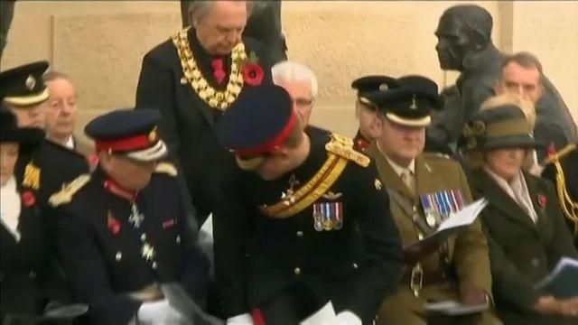 Royaume-Uni. : le prince Harry représente la famille royale pour les commémorations de l'Armistice