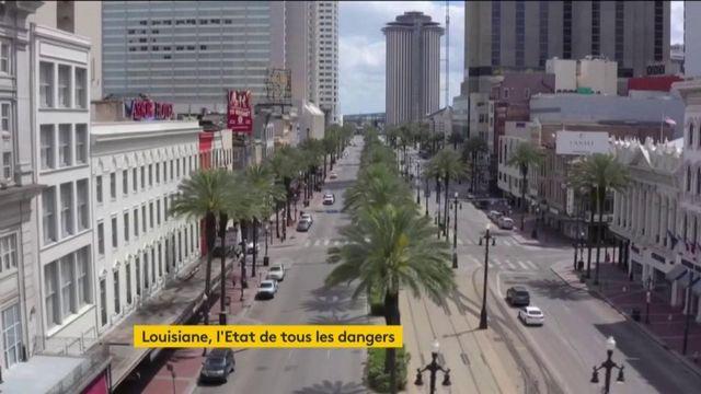 Coronavirus : la Louisiane, l'Etat de tous les dangers