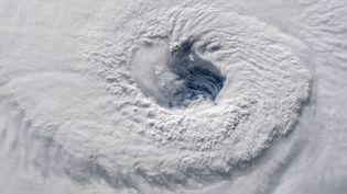 L'ouragan Florence vu depuis laStation spatiale internationale, le 12 septembre 2018. (NASA / AFP)