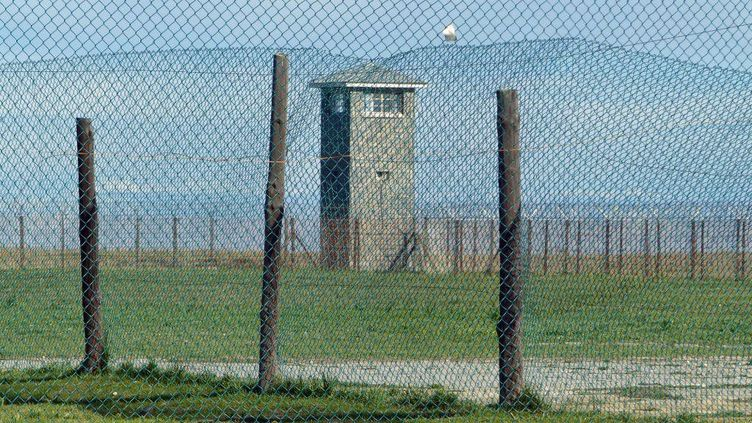 Sur l'île-prison de Robben Island au large du Cap (Afrique du Sud) en août 2017... (FTV - Laurent Ribadeau Dumas)