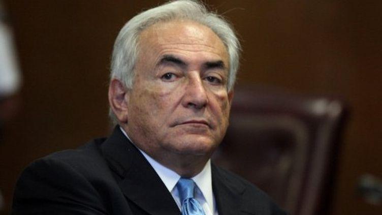Dominique Strauss-Kahn, juillet 2011 à New York (AFP)