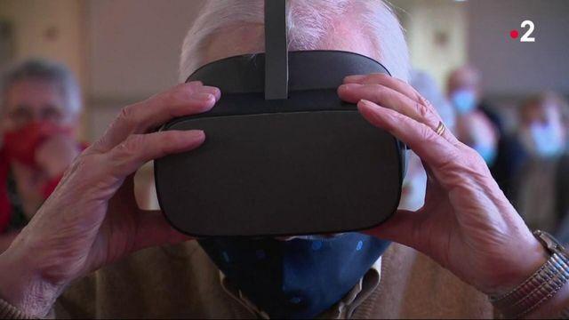Technologie : la réalité virtuelle pour faire voyager les seniors