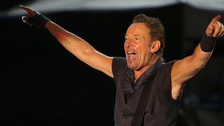 Bruce Springsteen à Lisbonne le 19 mai 2016.  (Pedro Fiúza/NurPhoto/AFP)