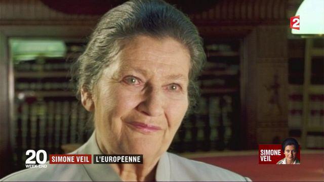 Simone Veil : l'Europe, l'autre grand combat de sa vie