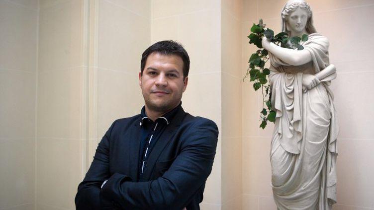 Guillaume Musso avant un déjeuner rassemblant les auteurs français les plus lus (2011)  (LOIC VENANCE / AFP)