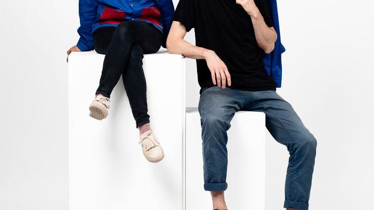 Kim Hou etPaul Boulenger, les créateurs de la marque About A Worker (Matthieu Gauchet)