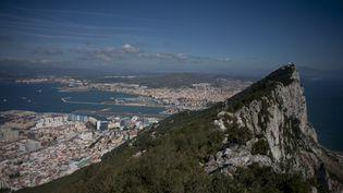 Le Rocher, au sud de la péninsule ibérique, entretient des liens ténus avec l'Espagne. (JORGE GUERRERO / AFP)