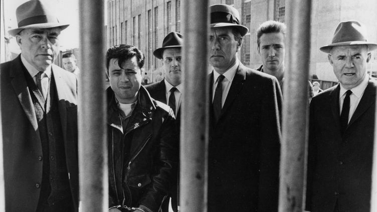 """""""De sang-froid"""", le chef-d'œuvre de Truman Capote, a fait l'objet d'une adaptation cinématrographique par Richard Brooks en 1967. (PHOTO12.COM / COLLECTION CINEMA / AFP)"""