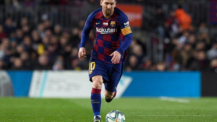 Lionel Messi reste au Barça (JOSEP LAGO / AFP)