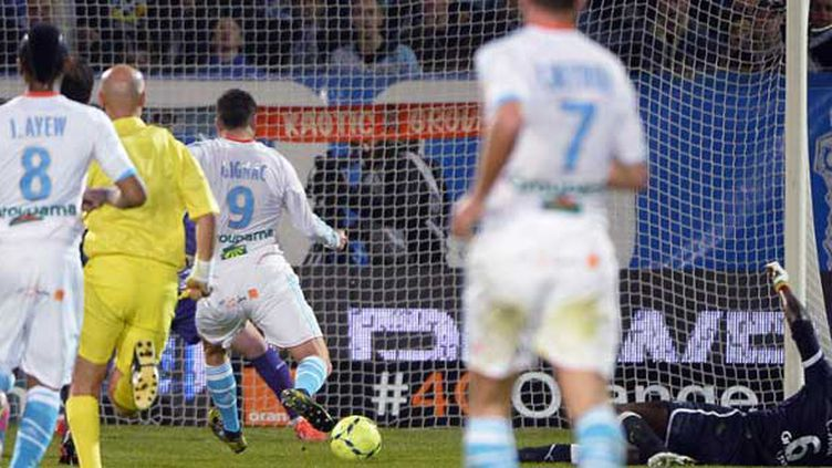 André-Pierre Gignac a marqué le but de la victoire