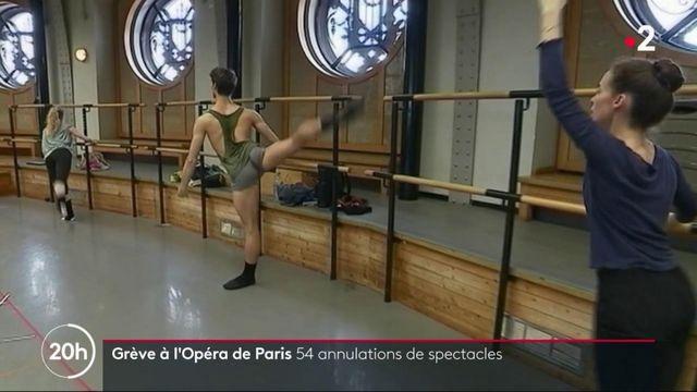 Grève : 54 annulations de spectacles à l'Opéra de Paris