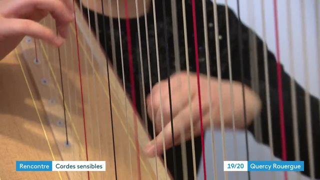 Rencontre avec la harpiste Zoe Buyck