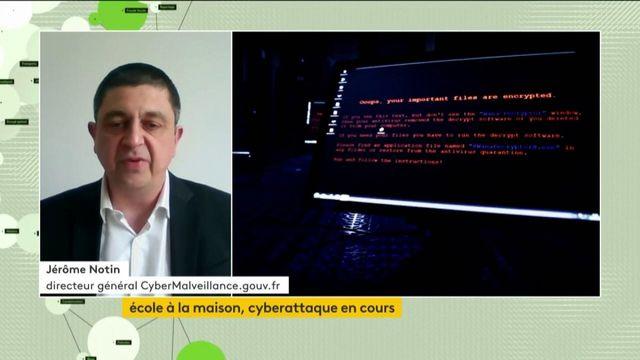 Ecole à la maison, cyberattaque en cours, Jerome Nottin
