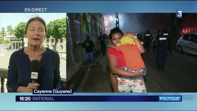 Guyane : Emmanuel Macron face à la colère de la population