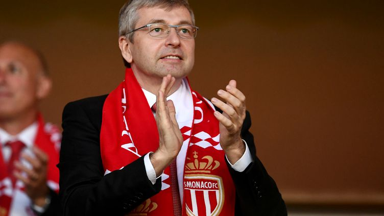 Le propriétaire de l'AS Monaco, Dmitri Rybolovlev (BORIS HORVAT / AFP)