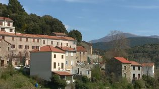 Le village deSanta-Maria-Siché. (France 2)
