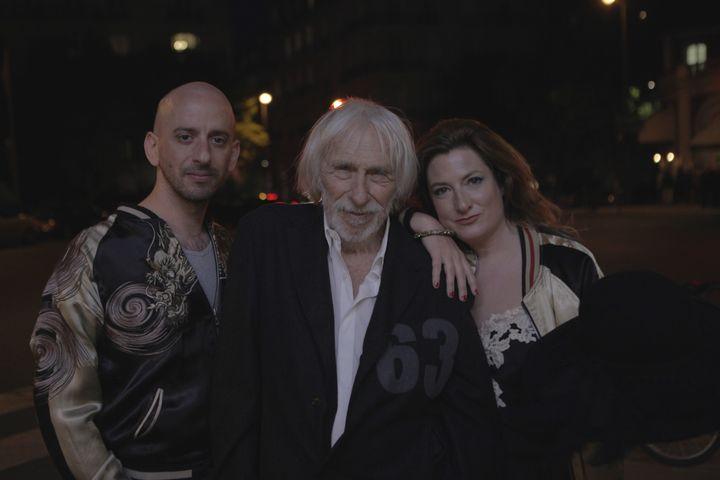 L'acteur Pierre Richard, entouré du musicien Jean-Baptiste Hanak et de l'écrivaine Ingrid Astier. (YANNICK SAILLET)