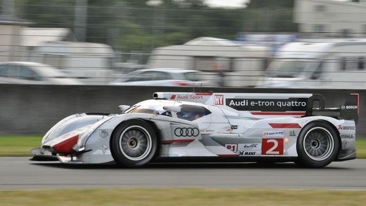 L'Audi R18 e-tron quattro N.2 au Mans