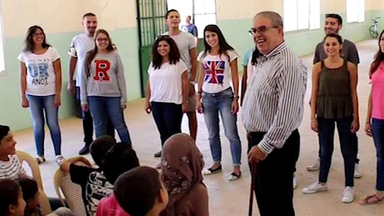 Barkev Talaskian transmet sa passion aux plus jeunes  (France3/culturebox )