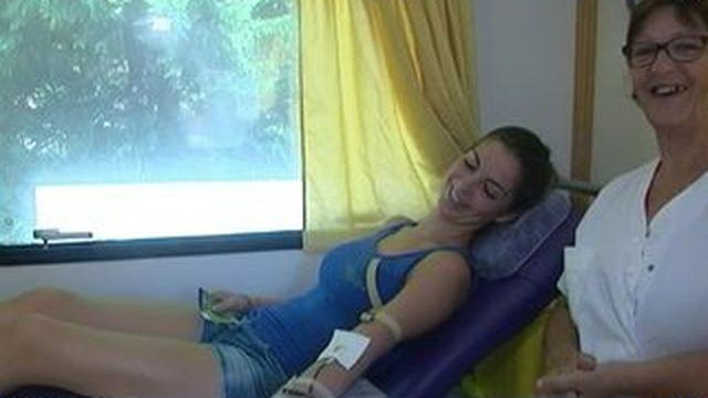 On peut donner son sang même sur son lieu de vacances